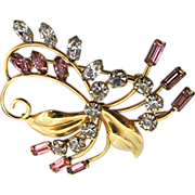 Floral Swirl Pin or Brooch