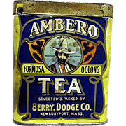SALE Ambero Tea Advertising Tin