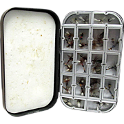 SOLD Wheatley Fly Box With Flies One Of Four Listed