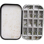 REDUCED Richard Wheatley Fly Box with Flies 1 Of 4