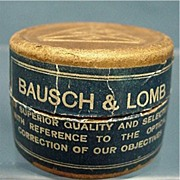 REDUCED Advertising Bausch & Lomb Cover Glasses in Original Box