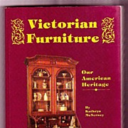 SALE Victorian Furniture Our American Heritage by Kathryn McNerney