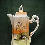 SALE Cocoa Pot Tree in Meadow Pattern