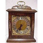 Bracket Clock 15 Jewel for Desk, Table or Mantel