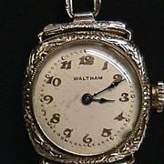 SALE Wristwatch Ladies Waltham 17 Jewels Wrist Watch