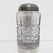 SALE Sugar Shaker 1908 American Glass