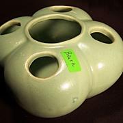 Brush Pottery Co. Flower Frog