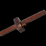 SOLD Hardwood Marking Gauge with Wedge Lock-Woodworking Tool