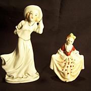 Occupied Japan & Red Mark Japan Figurines