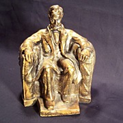 SOLD Carnival Chalkware President Abraham Lincoln