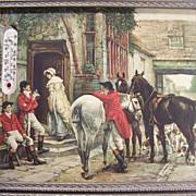 SALE Fox Hunters at English Pub Print