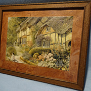 SALE The Hathaway Cottage at Shottery--Print--English