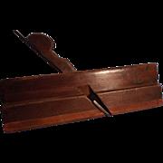 SALE Vintage Round Bottom Wood Plane--Woodworking Tool