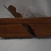 "Roxton Pond  7/8"" Round Plane by  A. Monty--Woodworking Tool"
