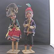 Ethnic Peruvian Dolls