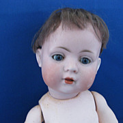 "German Bisque Doll""Bahr & Proschild"""