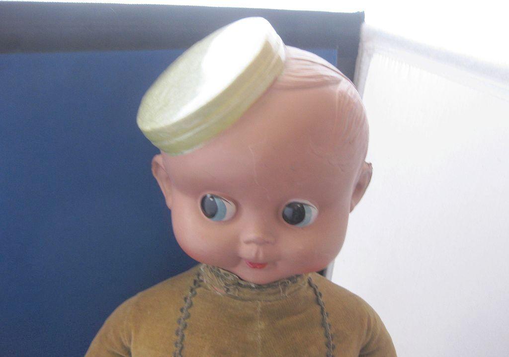 Vintage Celluloid Bellhop Doll