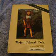"Book ""Modern Collector's Dolls  by Patricia Smith"