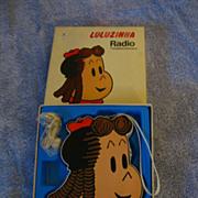 Vintage Little Lu Lu Radio