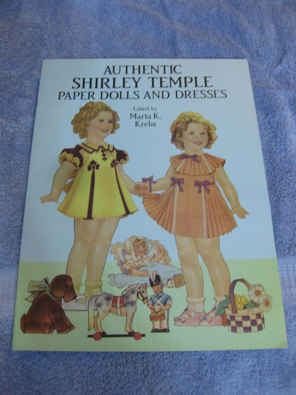 Original Shirley Temple Paper Dolls in full color,Classic Shirley Temple Paper Dolls in full color,   Authentic Shirley Temple Paper Dolls and Dresses