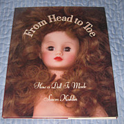 """Doll Book """"From Head to Toe How a  Doll  Is Made by Susan Kuklin"""