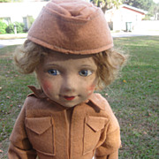 Chad Valley  Wac Cloth Doll