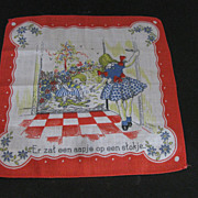 German Children's Handkerchief