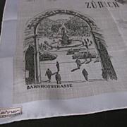 Linen  Handkerchiefs  Made in Switzerland
