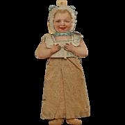 SOLD Unusual Vintage Paper Doll