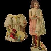 SOLD Vintage Paper Doll