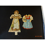 None Such  Mince Meat Paper Doll  with 2 outfits