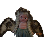 Vintage Flirty Eyed Angel  Doll