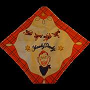 Howdy Doody Handkerchief