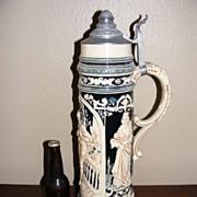 """SALE Vintage Monumental German Beer Stein 21"""" tall"""