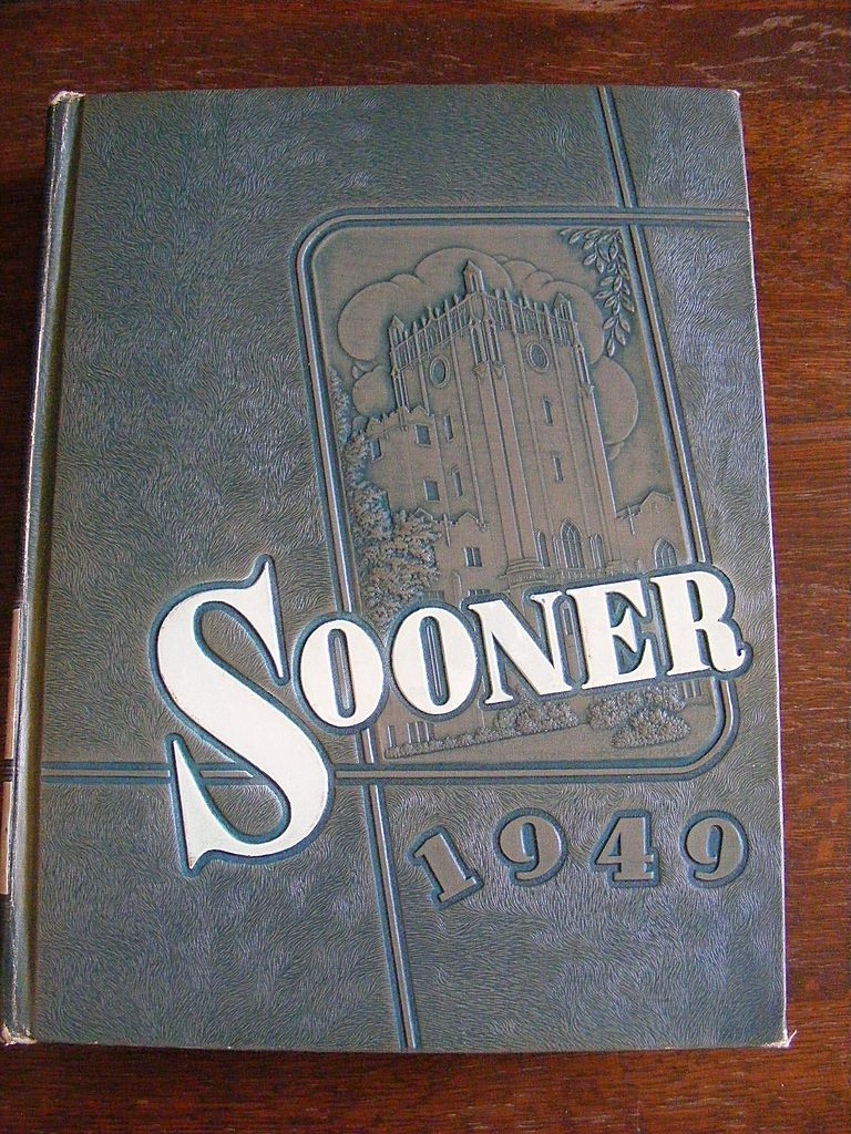 1948 OU Oklahoma University Sooner Yearbook