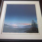 "Signed Print  ""Mountain Peace"""