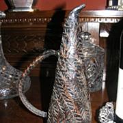 Interesting Object d'Art Iron Jug Sculpture