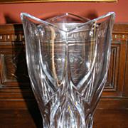 Genuine Jaffa Crystal Large Normandy Vase