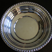 """SALE Wallace Halifax Sterling Silver Serving Bowl 10"""" diameter H102"""