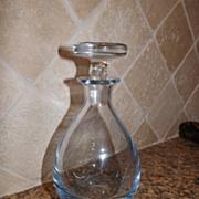 Crystal Art Glass Strombergshyttan Ice Blue Decanter