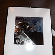 Vintage NASA Photo - Astronaut exiting orbiter