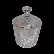 Covered Crystal Jar