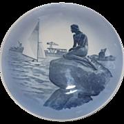 """Royal Copenhagen Christmas Plate """"The Little Mermaid"""""""