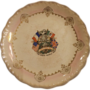 D.E. McNicol WWI Commemorative Plate