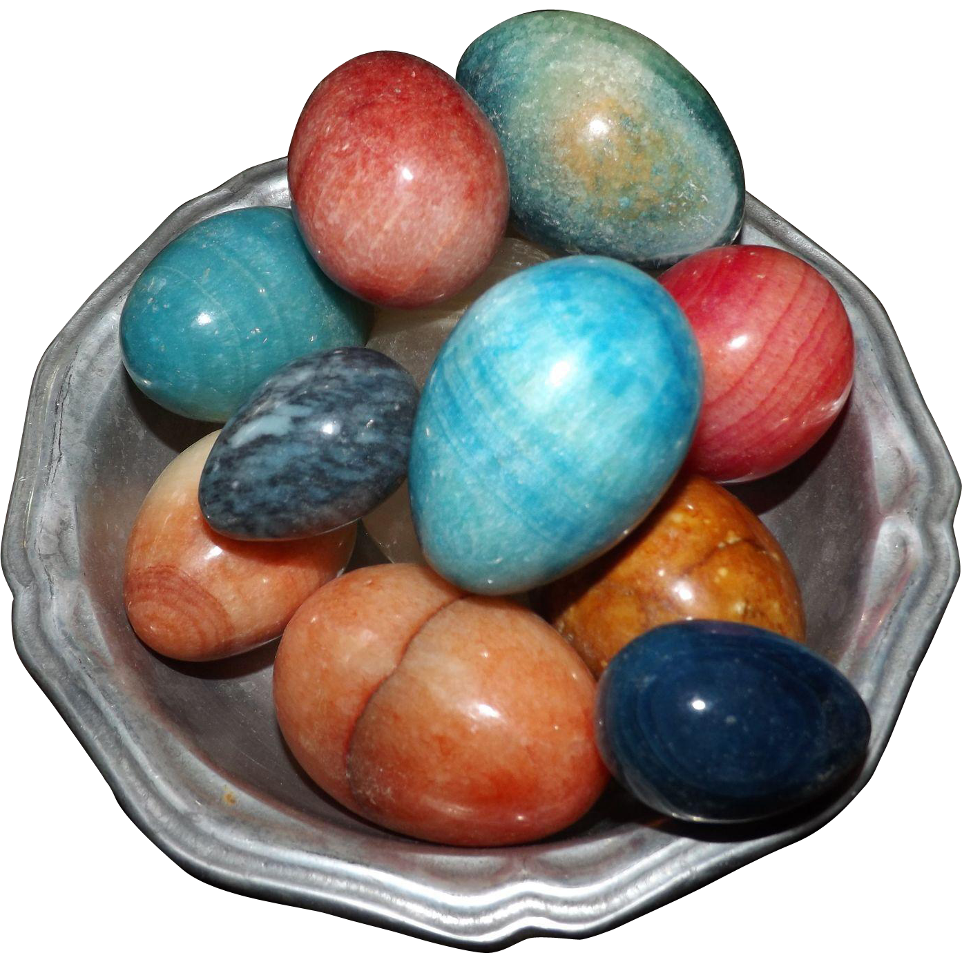 Colored Gemstone Pictures Blue Red Green Orange Pink
