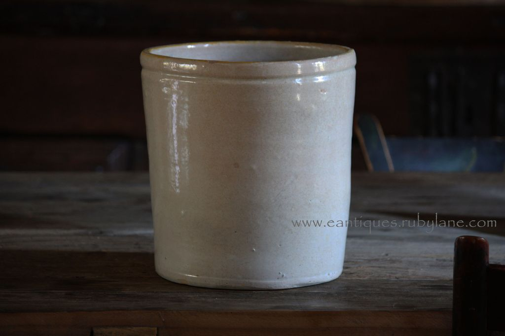 Antique Italian Confit Pot - 19th Century