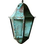 19th Century French Wall Lantern - Antique Lighting