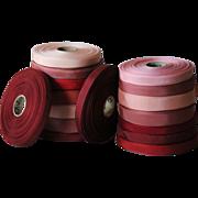 Vintage LOT of Ribbon Trim - Haberdashery / Textiles