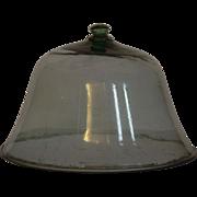 SOLD 19th Century Garden Melon Cloche - Antique Glass Cloche