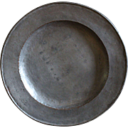 18th Century Welsh Tinned COPPER Charger / Plate